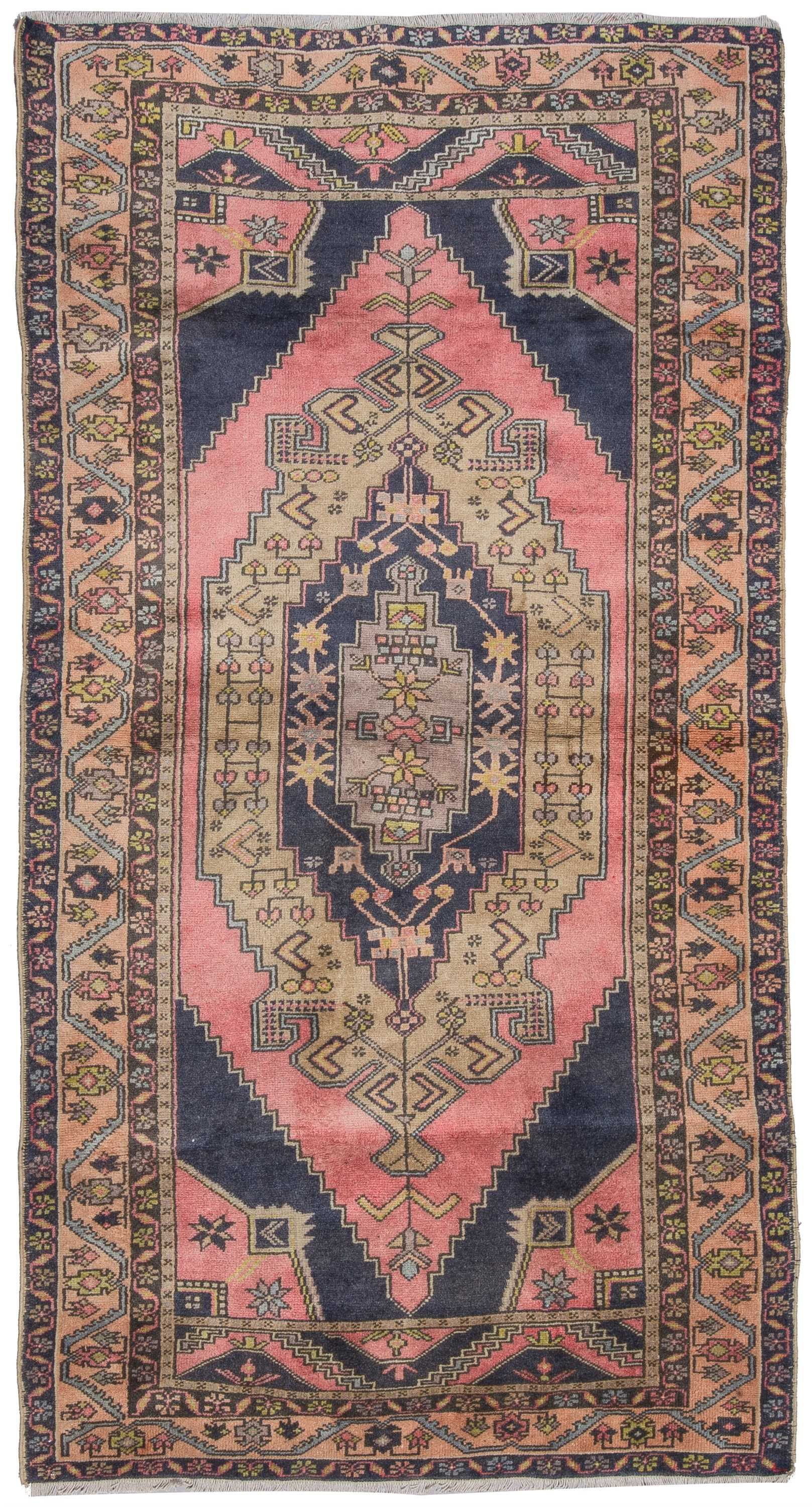 Vintage Turkish Rug - 0839