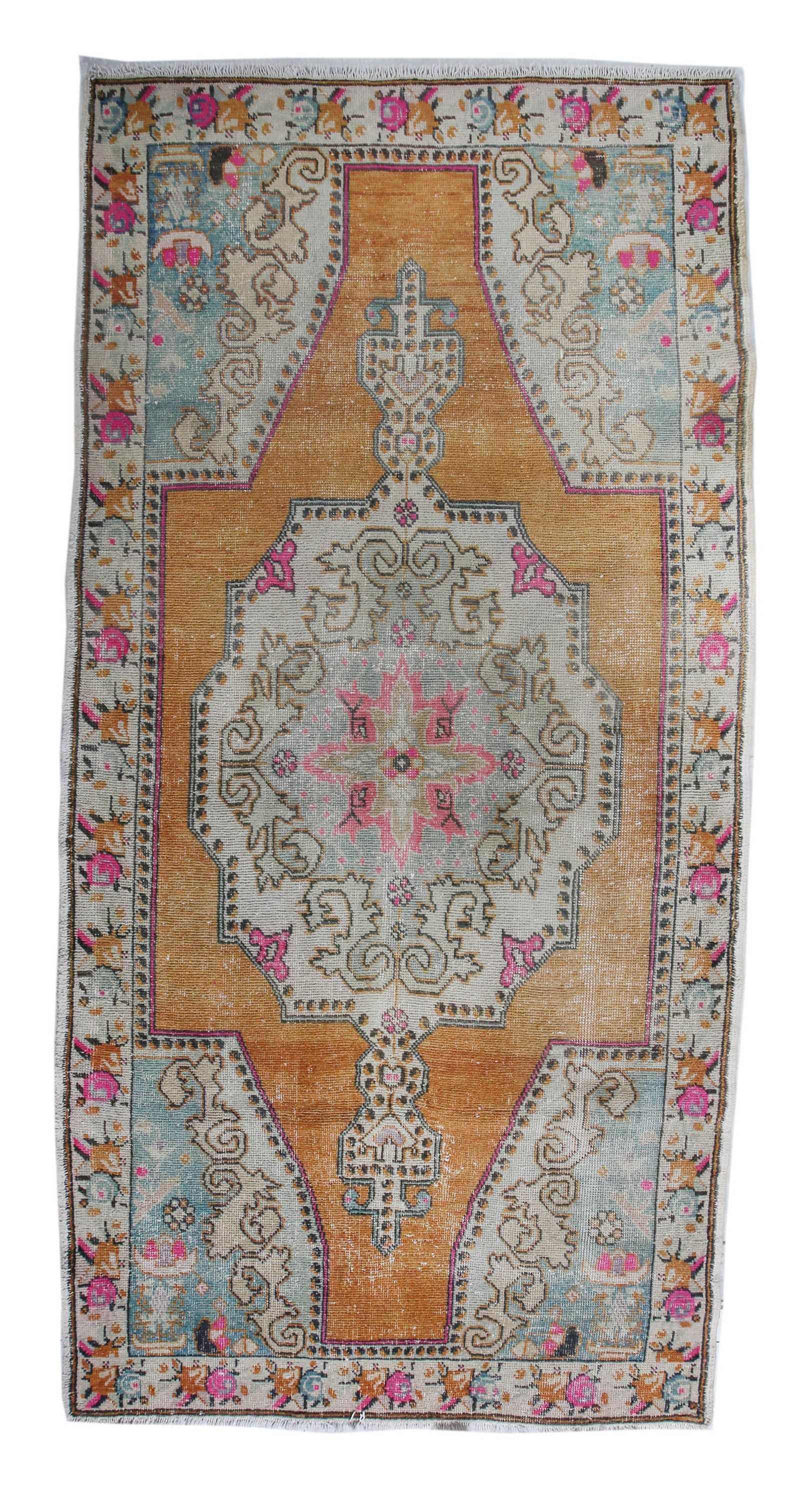 Vintage Turkish Rug Vr91
